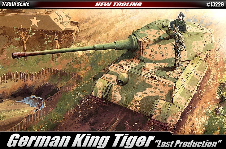 13229 Academy 1/35 German King Tiger [Last Production]