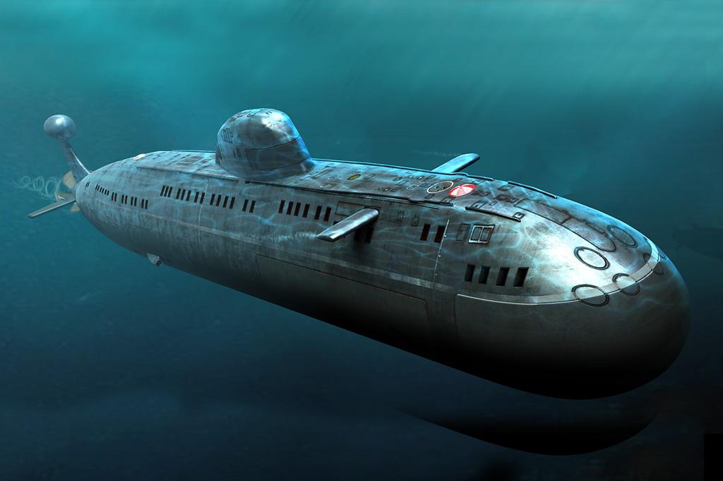 первые подводные лодки россии видео