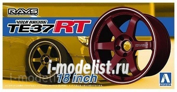 Aoshima 1//24 Volk Racing Te37Rt 18Inch NEW model kit