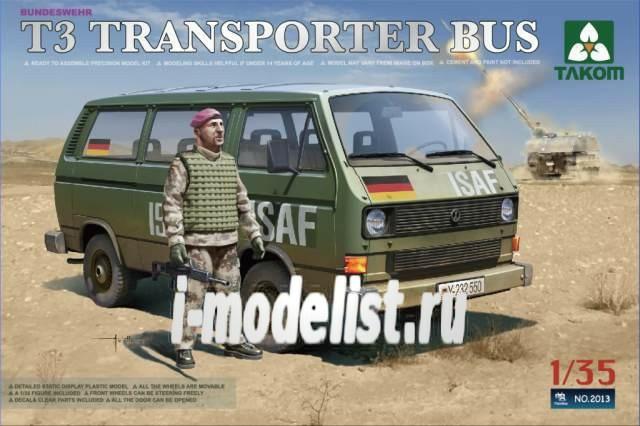 Takom 1//35 2014 T3 Transporter Trucks