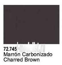 72745 Vallejo Charred Brown
