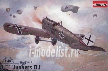 433 Roden 1/48 Junkers D.I (early)