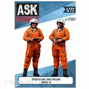 ASK72007 All Scale Kits (ASK) 1/72 Set of Pilots of the Russian Air Force/VKS in the VMSK (2 figures)