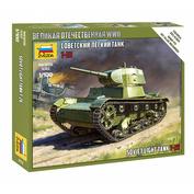 6113 Звезда 1/100 Советский танк Т-26 (для игры