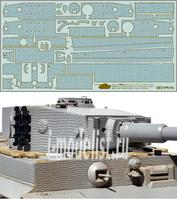 12647 Tamiya 1/35 Набор наклеек, имитирующих циммерит для танка Tiger I (средняя и поздняя версии, 35146, 35194)