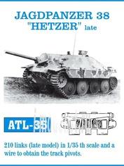Atl-35-35 Friulmodel 1/35 Jagdpanzer 38