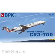 BPK7215 BPK 1/72 Самолет Bombardier CRJ-700 American Eagle