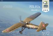 70005 ArmaHobby 1/72 Самолет PZL P.7a Deluxe Set