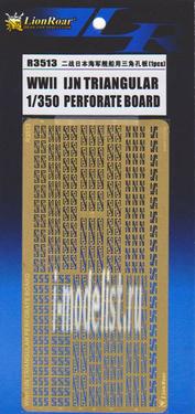 R3513 Lion Roar 1/350 WWII IJN triangular Perforate Board