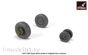 AW48316 Armory1/48 Wheel add-on Kit for F-100D Super Sabre with weighted tires