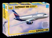 7009 Звезда 1/144 Региональный пассажирский авиалайнер Superjet 100