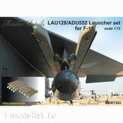 MDR7203 Metallic Details 1/72 LAU-128/ADU-552 Пусковая установка для F-15