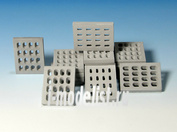E-018 Eureka 1/35 Modern Concrete Road Panels (Perforated)