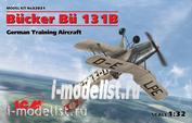 32031 ICM 1/32 Bücker Bü 131B, German Training Aircraft