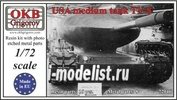 72046 OKB Grigorov 1/72 USA medium tank TV-8