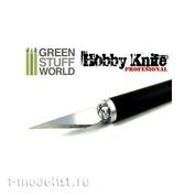 1333 Green Stuff World Модельный нож / Profesional Metal HOBBY KNIFE