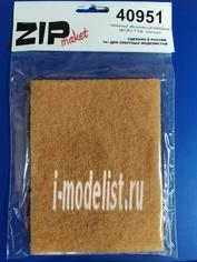 40951 ZIPmaket Нетканый абразивный материал MICRO FINE (желтый)