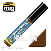 AMIG1253 Ammo Mig STREAKINGBRUSHER GRIME (Краска с тонкой кистью аппликатором)