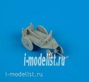 QB48 102 QuickBoost 1/48 Набор дополнений  German WWII support cart for external fuel tank
