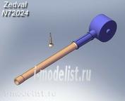 N72024 Zedval 1/72 Set of parts for ACS 2C9