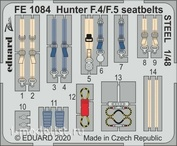 FE1084 Eduard photo-etched parts for 1/48 Hunter F. 4/ F. 5 steel straps