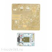 072037 Микродизайн 1/72 Фототравление для МиGG-3 (Звезда) цветные приборные доски