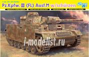 6776 Dragon 1/35 Pz.Kpfw.III (FL) Ausf.M w/schurzen