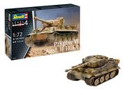 03262 Revell 1/72 Немецкий тяжелый танк PzKpfw VI Ausf. H TIGER