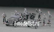 31101 Hasegawa 1/72 Джип Willys M.B. С 37-мм Пто