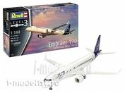 03883 Revell 1/144 Embraer 190 Lufthansa