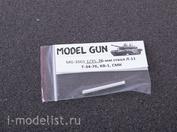 MG-3501 Model Gun 1/35 Metal barrel 76 mm L-11 for T-34/76, KV-1, SMK, etc.