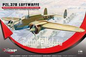 481312 Mirage Hobby 1/48 PZL.37B LUFTWAFFE