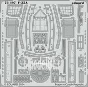 73497 Eduard 1/72 Фототравление для F-35A