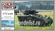72001 OKB Grigorov 1/72 German Armoured Weapons Carrier Wiesel Mk.20
