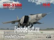 48902 ICM 1/48 МuГ-25 РБ, Советский самолет-разведчик