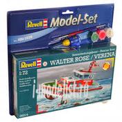 65214 Revell 1/72 Спасательный катер DGzRS Walter rose (в набор входят клей, кисть и краски)