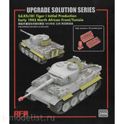 RM-2006 Rye Fiel Model 1/35 Add-on Kit for Tiger I Initial Production Early 1943 North African Front/Tunisia