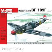 AZ7563 AZ Model 1/72 Самолет Messerschmitt Bf-109F `Fridrich`