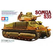 35344 Tamiya 1/35 Французский средний танк SOMUA S35, с одной фигурой