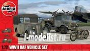 3311 Airfix 1/72 WWII RAF Vehicle Set