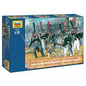 8020 Zvezda 1/72 Russian heavy infantry (grenadiers) 1812 - 1814