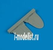 QB72 155 QuickBoost 1/72 Набор дополнений Spitfire Mk. XIV stabilizer