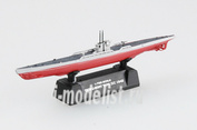 37320 Easy model 1/700 scale Assembled and painted model submarine U-9B 1942