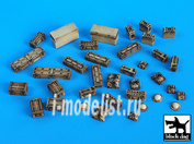 T35021 Black dog 1/35 British equipment accessories set