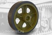 35001 Fury Models 1/35 Набор дополнений сварные колес для американского легкого танка M3 / M3A1 / M5 (STUART)