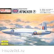 AZ7327 AZ Model 1/72 Самолёт Supermarine Attacker Prototype
