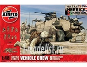3702 Airfix 1/48 British Forces Vehicle Crew