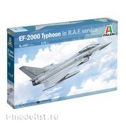1457 Italeri 1/72 Самолёт EF-2000 Typhoon in R.A.F. Service