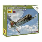 6254 Zvezda 1/144 Soviet fighter I-16