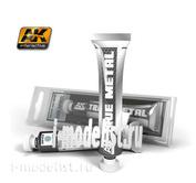 AK458 AK Interactive Wax paint TRUE METAL SILVER (